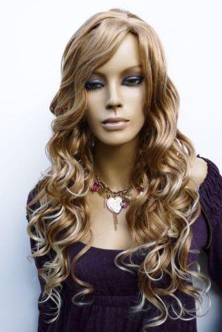 parochňa blond vlny bronzový melír parochne blond parochne parochne ...